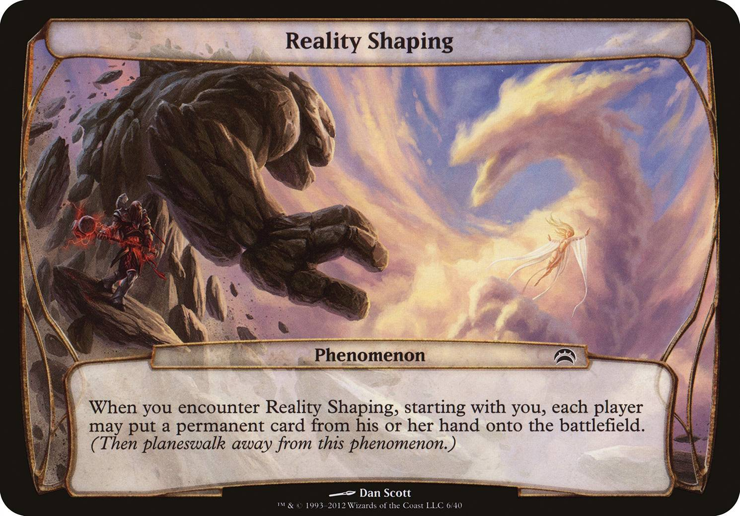 Reality Shaping, Planechase 2012