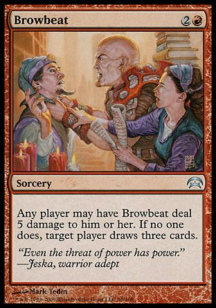 Browbeat, Planechase