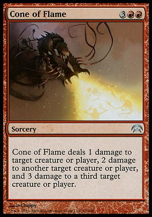 Cone of Flame, Planechase