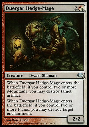 Duergar Hedge-Mage, Planechase