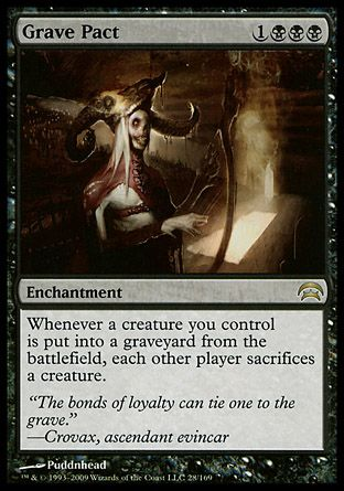 Grave Pact, Planechase