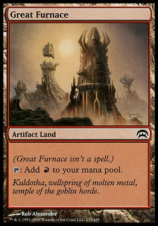 Great Furnace, Planechase