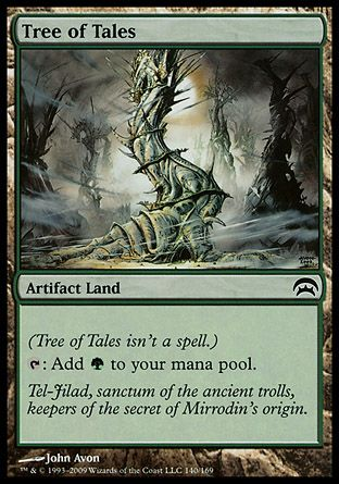 Tree of Tales, Planechase