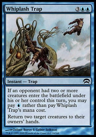 Whiplash Trap, Planechase