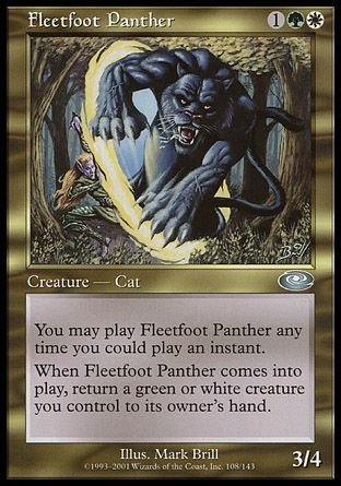 Fleetfoot Panther, Planeshift