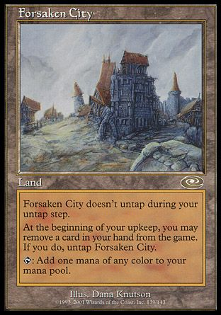 Forsaken City, Planeshift