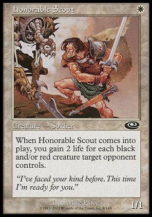 Honorable Scout, Planeshift
