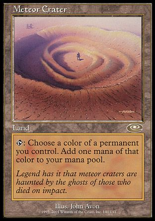 Meteor Crater, Planeshift