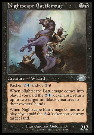 Nightscape Battlemage, Planeshift