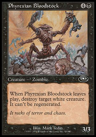 Phyrexian Bloodstock, Planeshift
