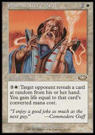 Planeswalker's Mirth, Planeshift