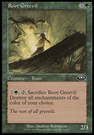Root Greevil, Planeshift