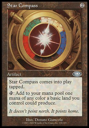 Star Compass, Planeshift