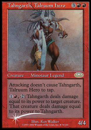 Tahngarth, Talruum Hero, Planeshift