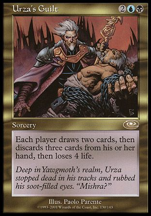 Urza's Guilt, Planeshift