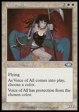 Voice of All, Planeshift