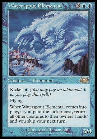Waterspout Elemental, Planeshift