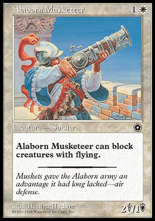 Alaborn Musketeer, Portal Second Age