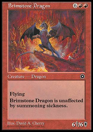 Brimstone Dragon, Portal Second Age