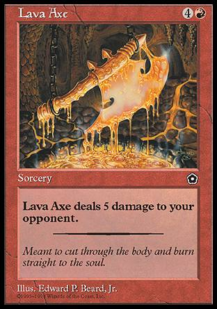 Lava Axe, Portal Second Age