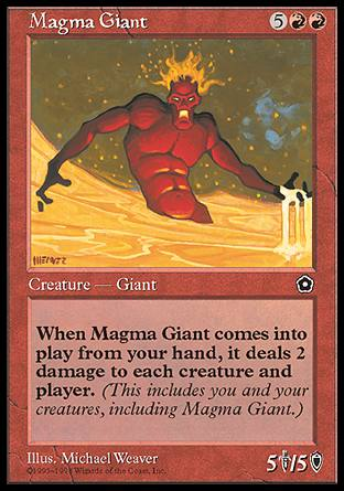 Magma Giant, Portal Second Age