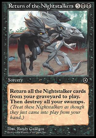 Return of the Nightstalkers, Portal Second Age