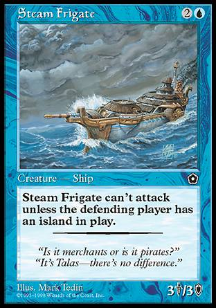 Steam Frigate, Portal Second Age