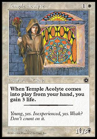 Temple Acolyte, Portal Second Age
