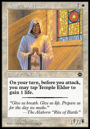 Temple Elder, Portal Second Age
