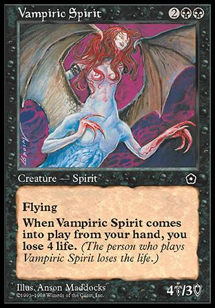 Vampiric Spirit, Portal Second Age