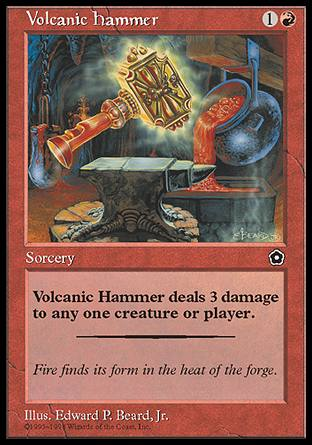 Volcanic Hammer, Portal Second Age