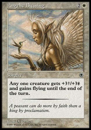 Angelic Blessing, Portal