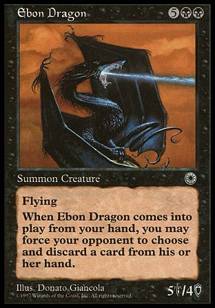 Ebon Dragon, Portal