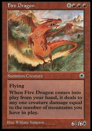 Fire Dragon, Portal