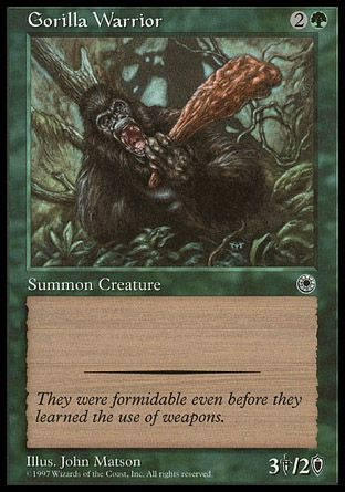 Gorilla Warrior, Portal