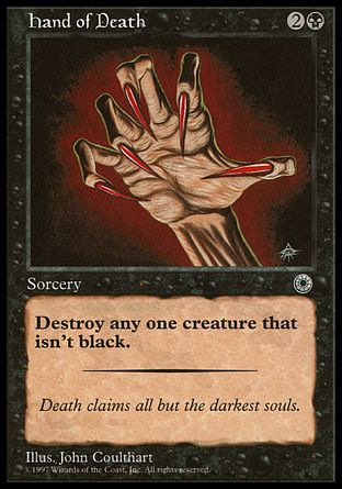 Hand of Death, Portal