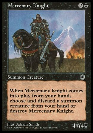 Mercenary Knight, Portal