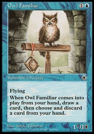 Owl Familiar, Portal
