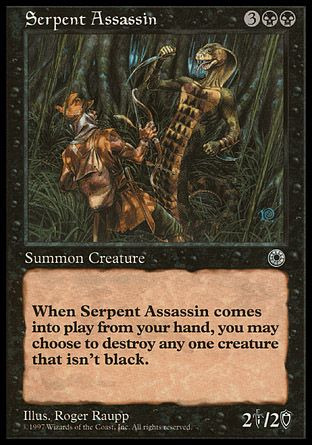 Serpent Assassin, Portal