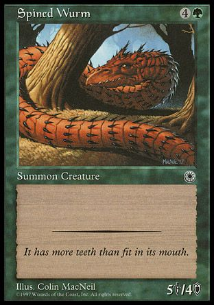 Spined Wurm, Portal