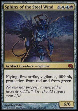 Sphinx of the Steel Wind, Premium Deck Graveborn