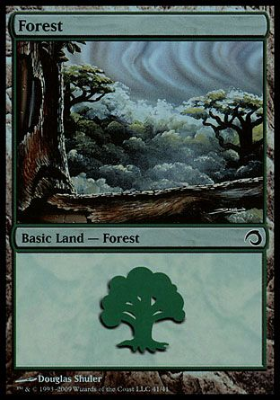 Forest, Premium Deck Slivers
