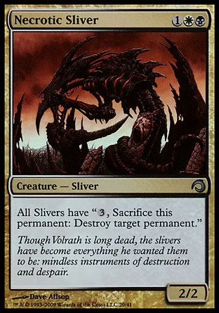 Necrotic Sliver, Premium Deck Slivers