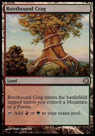 Rootbound Crag, Premium Deck Slivers