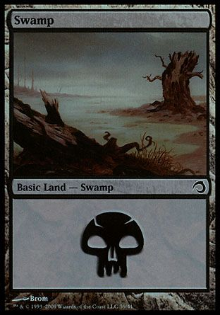 Swamp, Premium Deck Slivers