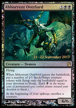 Abhorrent Overlord, Prerelease Events