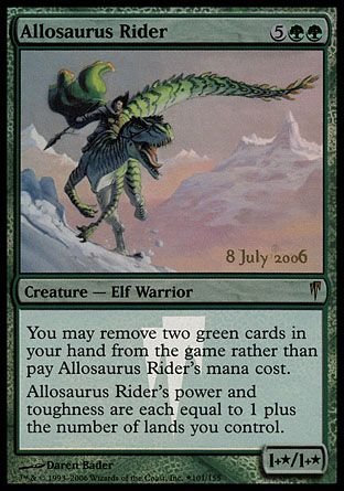 Allosaurus Rider, Prerelease Events