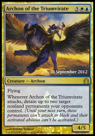 Archon of the Triumvirate, Prerelease Events