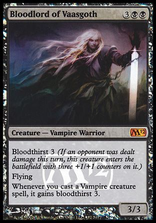Bloodlord of Vaasgoth, Prerelease Events