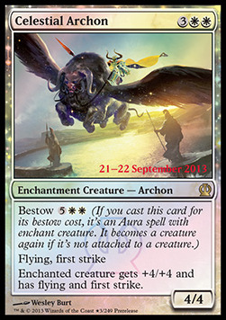 Celestial Archon, Prerelease Events